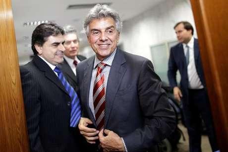 O deputado Beto Mansur (PRB-SP) após reunião em Brasília, no Brasil 12/07/2016 REUTERS/Ueslei Marcelino