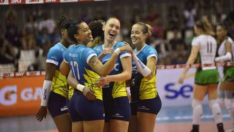 Sesc RJ é o atual campeão da Copa Brasil feminina (Foto: Divulgação)