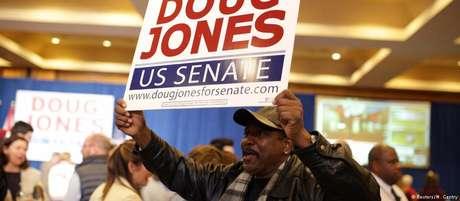 Vitória do democrata Doug Jones no conservador Alabama surpreendeu até os mais esperançosos