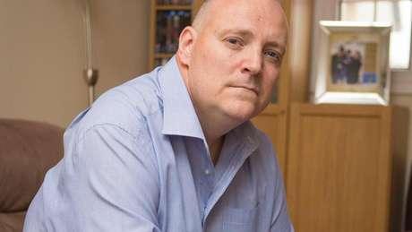 Kevin O'Neill tem vivido por 11 anos com dor crônica severa. Foto: Arquivo pessoal Kevin O'Neill