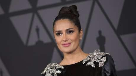Salma Hayek protagonizou o filme 'Frida', produzido por Harvey Weinstein