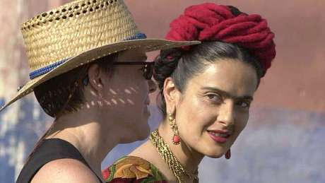 'Frida', ponto alto da carreira de Salma Hayek, rendeu à atriz mexicana indicação ao Oscar