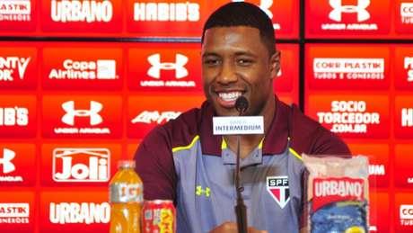 O volante Jucilei chegou ao São Paulo no início desta temporada e foi um dos jogadores mais importantes do elenco em 2017 (Maurício Rummens/Fotoarena/Lancepress!)