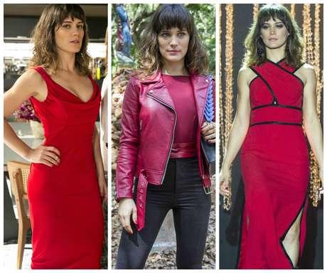 Clara usa vermelho  a cor da vingança (Fotos  Rede Globo Divulgação) f028e15b98