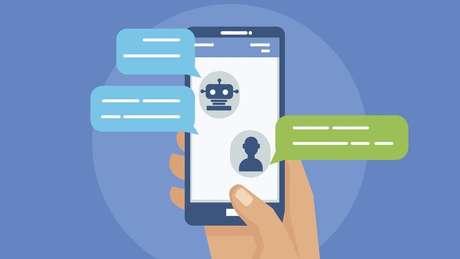 Robôs, ou bots, não são necessariamente ruins - chats automatizados, próprios de serviços de atendimento ao cliente, são um exemplo