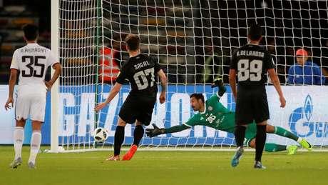 Angelo Sagal marca para o Pachuca no Mundial de Clubes