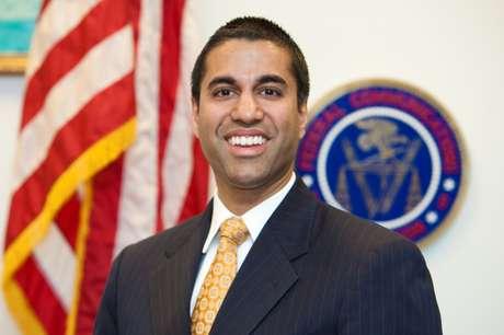O presidente da FCC, Ajit Pai, que defendeu o fim da neutralidade de rede