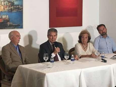 Citadini recebeu apoio de Waldemar Pires e Marlene Matheus (Foto: Marcio Porto)