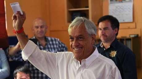 Sebastián Piñera governou o Chile entre 2010 e 2014 e agora volta para mais um turno