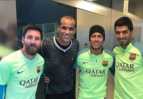 Rivaldo diz que ganharia mais uma Bola de Ouro se jogasse hoje