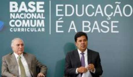 Brasília - Cerimônia de Homologação da Base Nacional Comum Curricular (Alan Santos /PR)