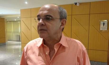 Eduardo Bandeira de Mello, presidente do Flamengo (Foto: Igor Siqueira)