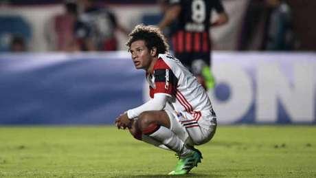 Frustração: Em 2017, Flamengo não passou da fase de grupos da Copa Libertadores (Foto: AFP)