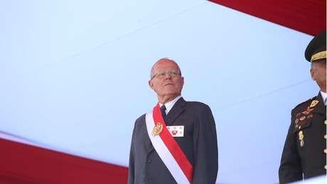 O presidente peruano Pedro Pablo Kuczynski (PPK) poderá sofrer impeachment por causa de seus negócios com a Odebrecht