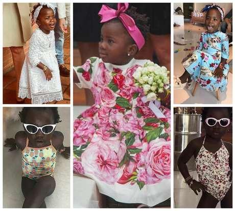 Titi: muito além de uma garotinha fashion (Fotos: Reprodução/Instagram)