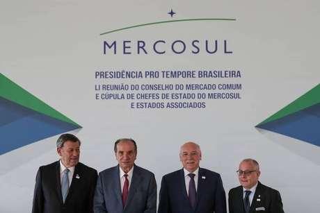 Michel Temer recebe líderes do Mercosul nesta quinta-feira