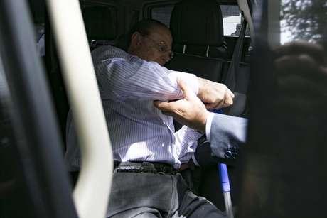 O Deputado Federal, Paulo Maluf, se entregou em São Paulo (SP).