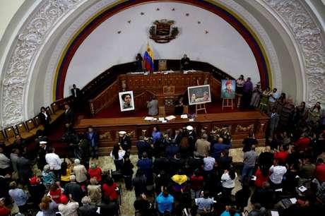 Visão geral da Assembleia Constituinte da Venezuela, em Caracas 08/08/2017 REUTERS/Carlos Garcia Rawlins