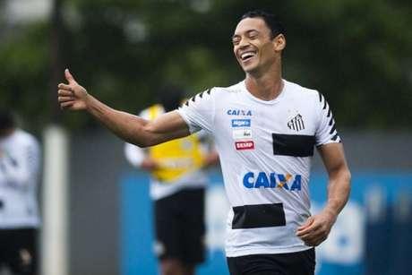 Ricardo Oliveira marcou 12 gols e deu duas assistências com a camisa do Peixe em 2017 (Ivan Storti)