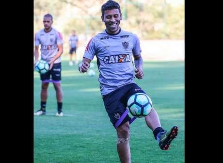 Marcos Rocha durante treino do Atlético-MG, em Belo Horizonte (MG) (Foto: Bruno Cantini / Atlético-MG)