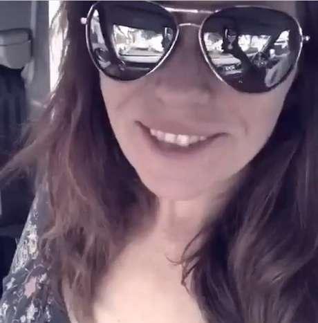 Giovanna Antonelli manda recado para fãs (Foto: Reprodução)