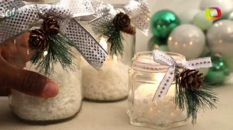 Decoração de Natal pode ser feita em casa