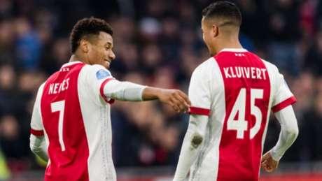 David Neres marcou pelo Ajax (Foto: Reprodução/Twitter)