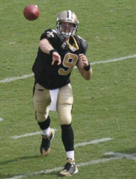 Drew Brees teve atuação de gala na vitória do New Orleans Saints (Foto: Divulgação/NFL)