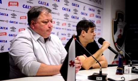 Departamento de futebol do Vasco ficou desfalcado. Confira a seguir outras imagens na galeria especial LANCE!