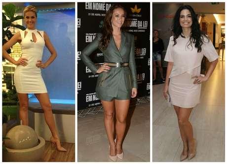 Ana Hickmann, Paolla Oliveira e Enmanuelle Araújo (Fotos: AgNews)