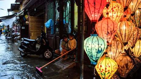 Vietnã teve inundações decorrentes de chuvas provocadas por La Niña