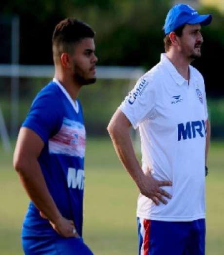 João Paulo tem contrato com o São Paulo até fevereiro de 2019 (foto: Divulgação / site oficial do Bahia)