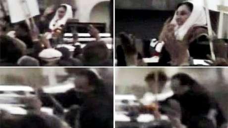 Bilal atirou em Bhutto antes de se explodir   Foto: Dawn News TV