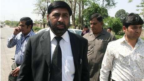 Promotor Chaudhry Zulfiqar Ali foi morto ao dizer que se aproximava de solução do caso   Foto: Farooq Naeem