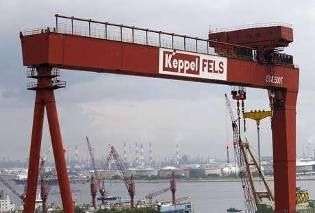 Visão geral de estaleiro da Keppel Corporation em Cingapura 19/01/2016 REUTERS/Edgar Su
