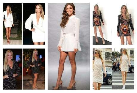 Vestidos curtos (Fotos: AgNews/Reprodução/Instagram)