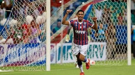 Brocador fez sucesso no Flamengo e tem contrato com o Bahia até o fim do ano que vem (Divulgação/Bahia)