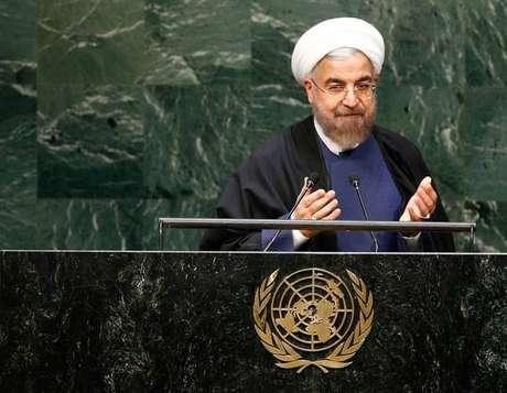 Presidente do Irã criticou Trump