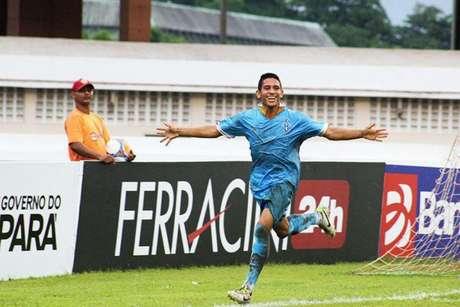 Atacante Leandro Carvalho tem 22 anos (Foto: Divulgação/Paysandu)
