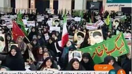 Manifestações começaram com críticas à queda no padrão de vida, mas ampliaram seu escopo político | Foto: IRINN
