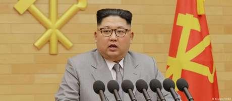 Em discurso de Ano Novo, Kim Jong-un atacou os EUA, mas adotou tom conciliatório para Seul