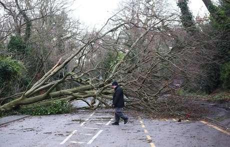 Tempestade Eleanor atingiu França e Reino Unido (foto)
