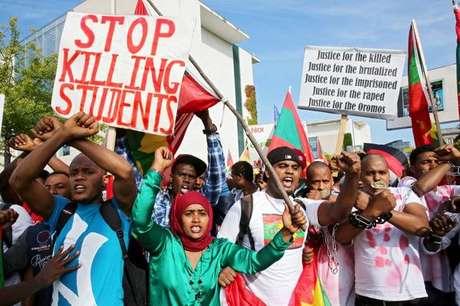 Governo etíope é acusado de reprimir e torturar manifestantes