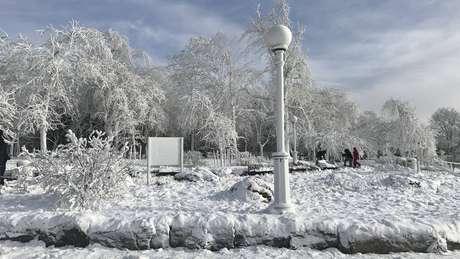 Na quarta, 40 Estados dos EUA entraram em alerta por causa do frio