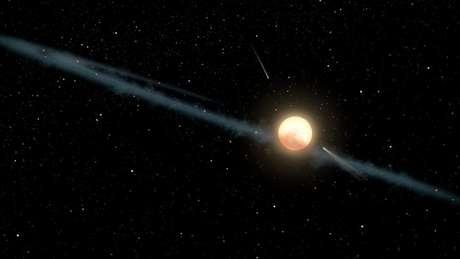 A estrela intriga cientistas desde seu descobrimento, em 2015 | Foto: Nasa/JPL-Caltech