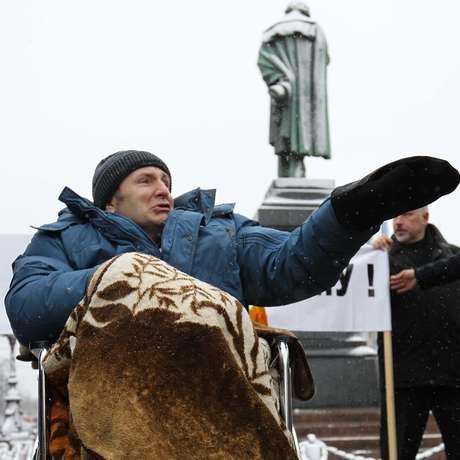 Editor de jornal de Khimki morreu de ataque cardíaco poucos anos depois de ser brutalmente agredido