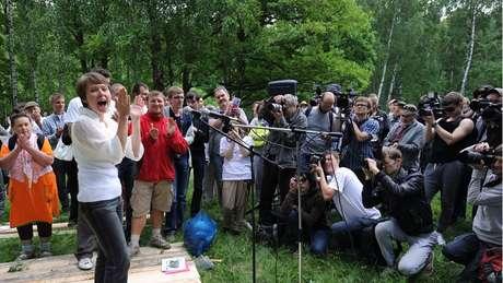 Em defesa da floresta Khimki, Chirikova organizou um dos maiores protestos ambientais da história da Rússia