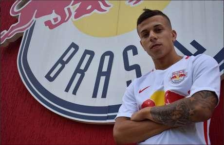 Aos 20 anos, o meia Matheus Oliveira ficará no Red Bull até o fim do Paulistão-2018 (Foto: Twitter Red Bull Brasil)