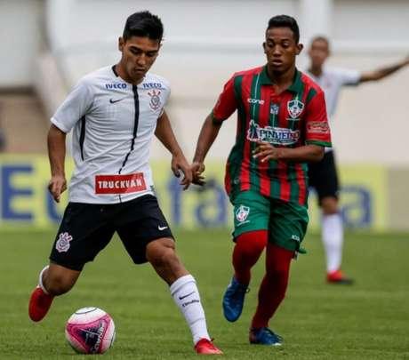 Corinthians goleou o Pinheiro-MA neste domingo (Foto: Divulgação/Corinthians)