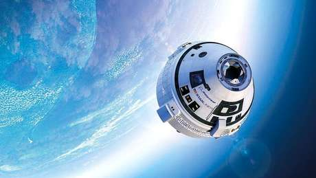 A Boeing trabalha para que a cápsula espacial Starliner possa transportar astronautas à Estação Espacial Internacional | Foto: Boeing